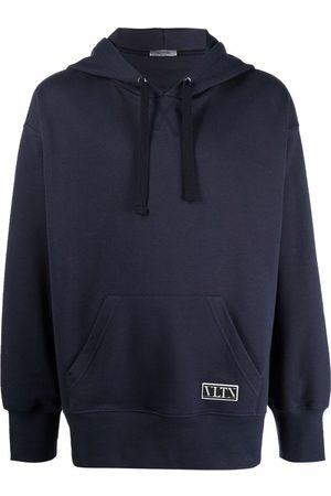 VALENTINO VLTN logo patch hoodie