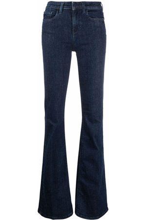 Pinko Women High Waisted - High-waisted flared jeans