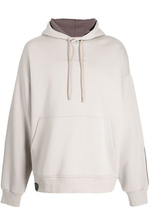 Izzue Panelled pullover hoodie