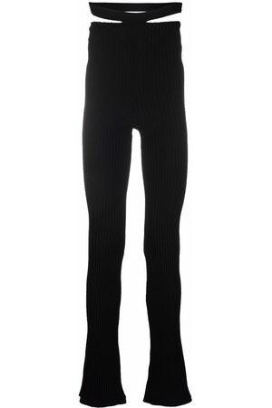 Adamo Wide Leg Pants - High-waisted flared pants