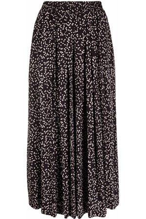 Isabel Marant Étoile Pleated wide-leg culottes