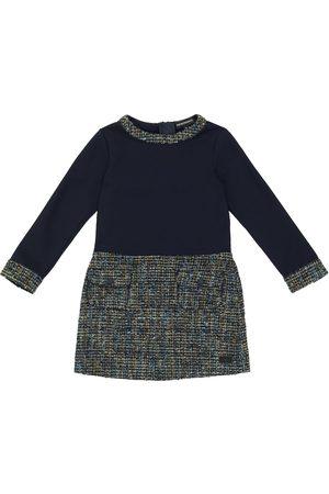 Emporio Armani Wool-blend long-sleeved dress