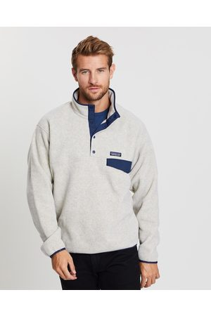 Patagonia Lightweight Synch Snap T Pullover - Sweats (Oatmeal Heather) Lightweight Synch Snap-T Pullover