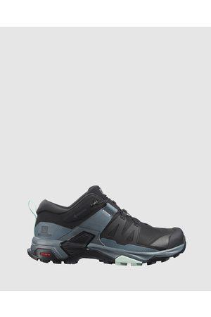 Salomon X Ultra 4 GTX Women's - Outdoor Shoes ( , Stormy Weather & Opal ) X Ultra 4 GTX - Women's