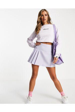 Ellesse Cropped sweatshirt in -Purple