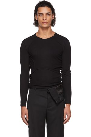 Dion Lee Y-Front Layered Long Sleeve T-Shirt