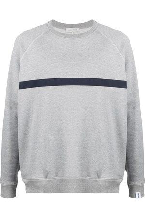 MACKINTOSH Men Sweatshirts - Horizontal-stripe crew-neck sweatshirt
