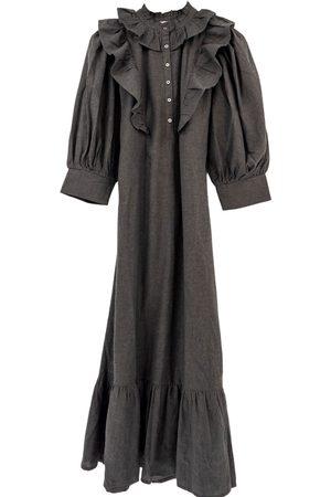 Antik Batik Lova Jukr gray Lova Longdress-Gray