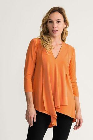 Joseph Ribkoff Tangerine Tunic Style 161066
