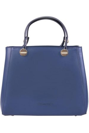 Luxe Designers Stefano Turco Small Navy Tote