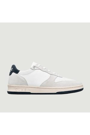Clae Sneakers - Malone Sneakers LEATHER NAVY