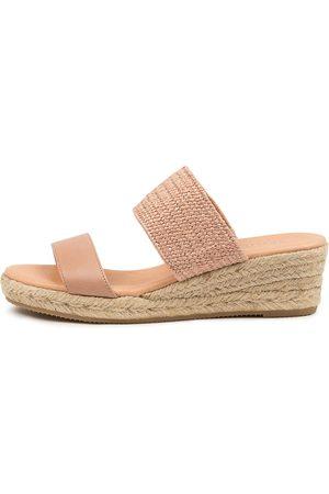 DIANA FERRARI Renaya Df Earth Sandals Womens Shoes Casual Heeled Sandals