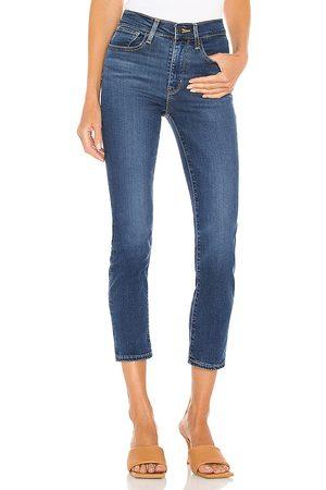 LEVI'S 724 High Rise Straight Leg Jean in .
