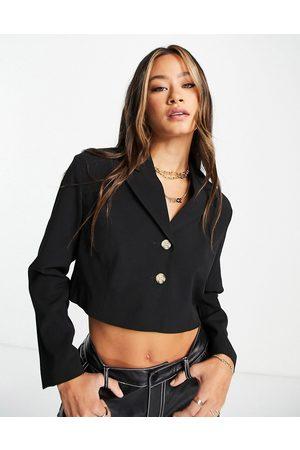 Topshop Cropped blazer in