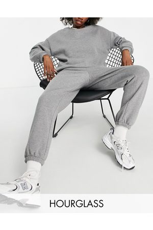 ASOS Hourglass tracksuit ultimate sweat / trackies in -Grey