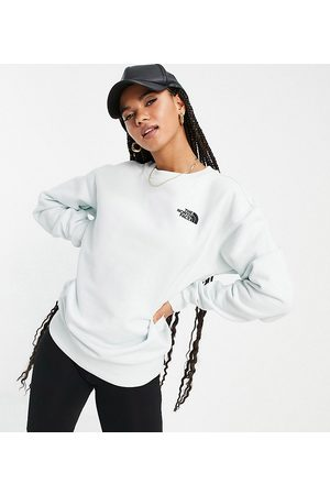 The North Face Essential sweatshirt in blue Exclusive at ASOS