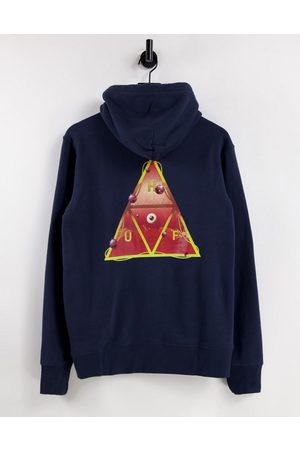 Huf Altered state back print hoodie in