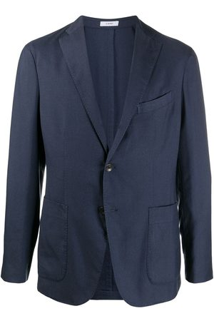 Boglioli Men Blazers - Single-breasted tailored blazer