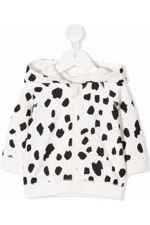 Stella McCartney Dalmatian spots zip-up hoodie