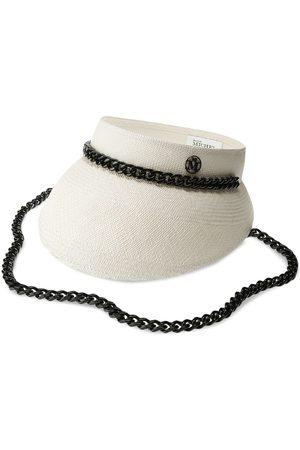 Maison Michel Patty straw visor