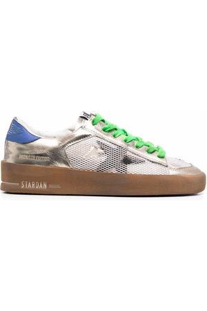 Golden Goose Women Sneakers - Stardan colour-block leather sneakers