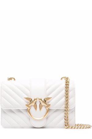 Pinko Women Shoulder Bags - Love quilted crossbody bag