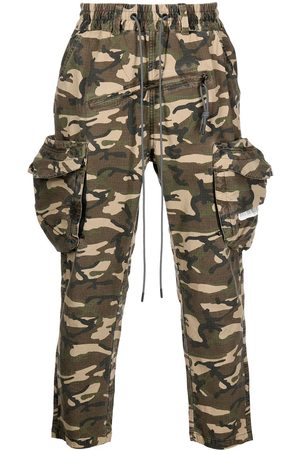 MOSTLY HEARD RARELY SEEN Camouflage-print cargo trousers