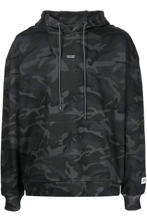 MOSTLY HEARD RARELY SEEN Camouflage graphic-print hoodie