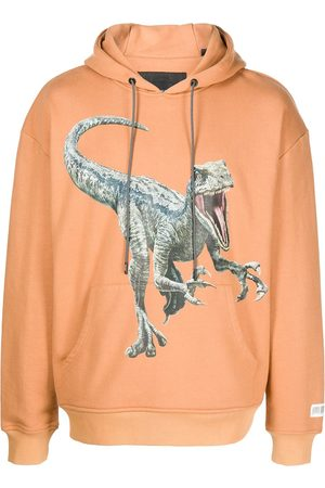 MOSTLY HEARD RARELY SEEN Men Hoodies - Dino-print hoodie