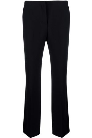 VERSACE Mid-rise flared trousers