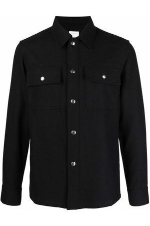 Sandro Men Shirts - Single-breasted shirt jacket