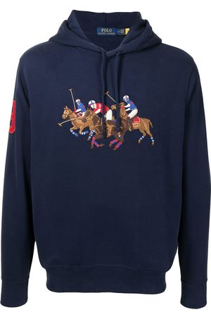 Polo Ralph Lauren Triple-Pony embroidered hoodie