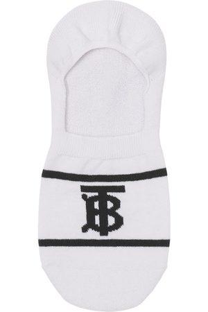 Burberry Monogram-intarsia sneaker socks