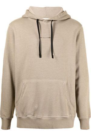 1017 ALYX 9SM Slogan-print drawstring hoodie