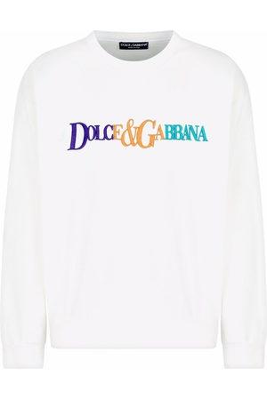 Dolce & Gabbana Logo-embroidered sweatshirt
