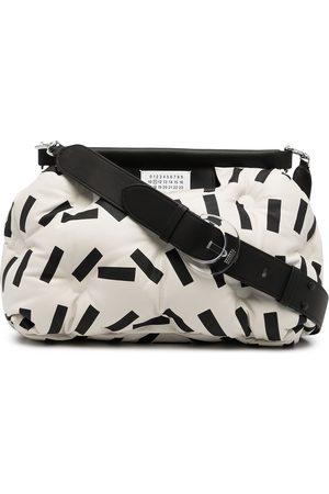 Maison Margiela Glam Sam abstract-print shoulder bag
