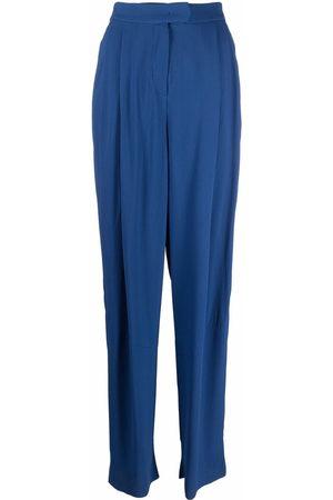 Emporio Armani Women Wide Leg Pants - Pleated-waist trousers