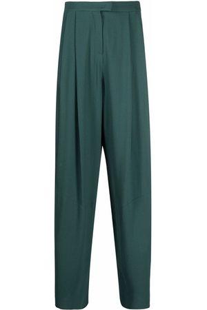 Emporio Armani Pleated-waist trousers