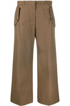 Kenzo Cropped flared trousers