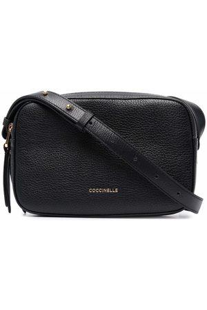 Coccinelle Logo zipped bag