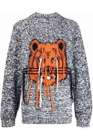 Kenzo Intarsia knit tiger jumper