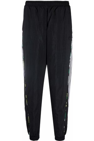 adidas Floral piping woven track trousers