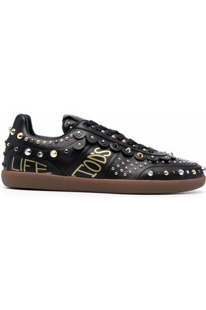 Tod's Studded lace-up low-top sneakers