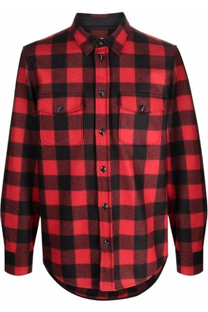 Woolrich Checked long-sleeve shirt