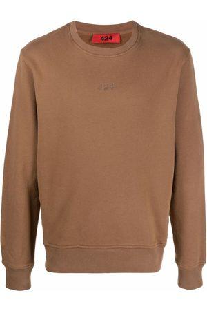 424 FAIRFAX Embroidered logo sweatshirt