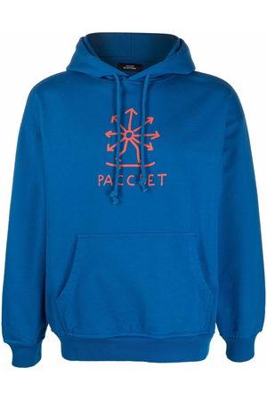 PACCBET Logo-print drawstring hoodie