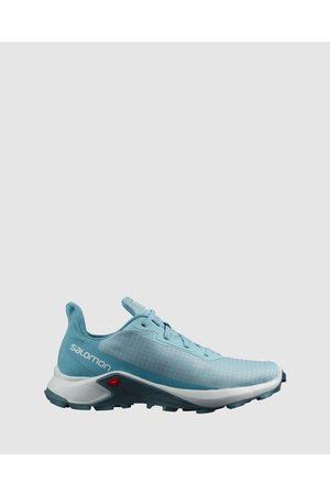 Salomon Alphacross 3 Women's - Outdoor Shoes (Crystal , & Delphinium ) Alphacross 3 - Women's