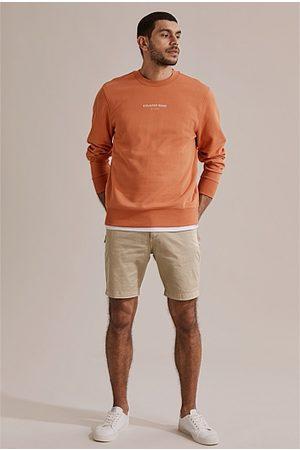 COUNTRY ROAD Men Sweaters - Australian Cotton Logo Sweat - Paprika