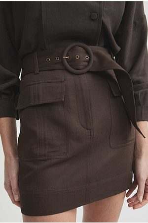 WITCHERY Women Skirts - Belted Utility Skirt