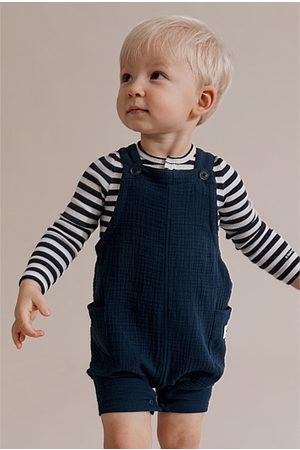 COUNTRY ROAD Unisex Textured Overall - Navy